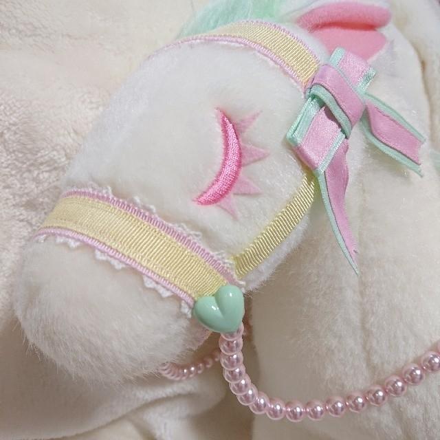 Angelic Pretty(アンジェリックプリティー)のmagicalポニーバッグ シロ×ミント Angelic Pretty レディースのバッグ(ハンドバッグ)の商品写真