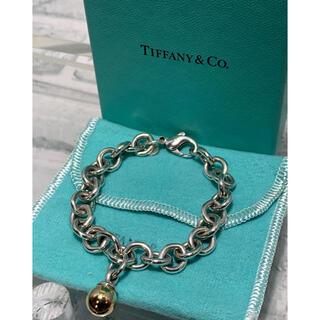 Tiffany & Co. - ヴィンテージティファニー TIFFANY コンビ チェーンブレスレット 18k