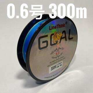 PEライン 0.6号 300m ブルー 【訳あり】(釣り糸/ライン)