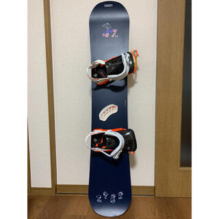 ミズノ(MIZUNO)のスノーボード スヌーピー 3点セット(板+ビンディング+バッグ)(ボード)
