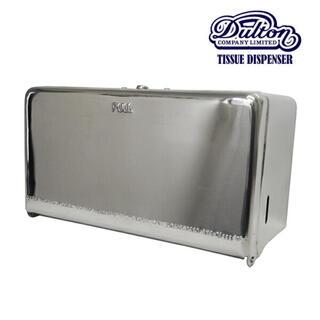 ダントン(DANTON)の新品 ダルトン DULTON  ティッシュケース シルバー 厚型対応(収納/キッチン雑貨)
