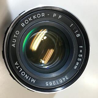 コニカミノルタ(KONICA MINOLTA)のMINOLTA  AUTO ROKKOR-PF 55mm F1.8(レンズ(単焦点))