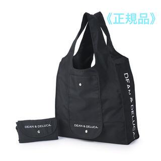 DEAN & DELUCA - DEAN&DELUCA  ショッピングバッグ★ブラック エコバッグ