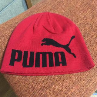 プーマ(PUMA)のプーマ ニット帽 キッズ 防寒(帽子)