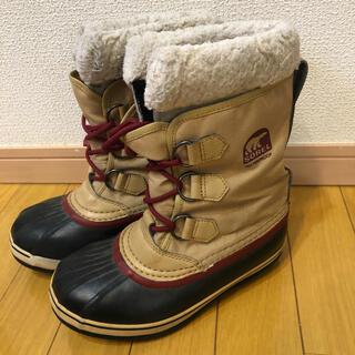 ソレルキッズ ブーツ キッズ スノーブーツ 長靴