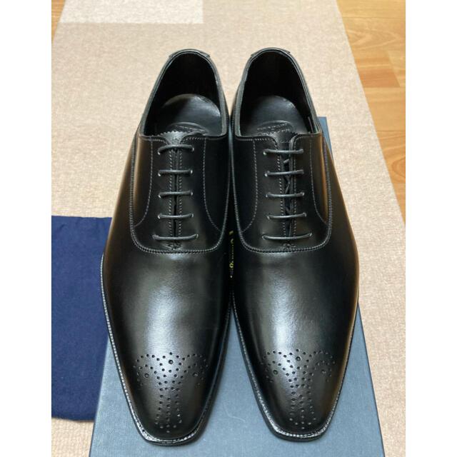 Crockett&Jones(クロケットアンドジョーンズ)の新品未使用 クロケット&ジョーンズ  6.5E ハンドグレード   メンズの靴/シューズ(ドレス/ビジネス)の商品写真
