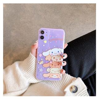 サンリオ(サンリオ)のPhoneケース  iPhoneカバー X XS サンリオ シナモン 新品(iPhoneケース)