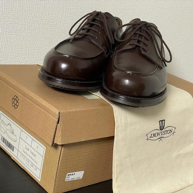 J.M. WESTON(ジェーエムウエストン)の【美品】JMウエストン(J.M.WESTON)641 ゴルフ キルト付き メンズの靴/シューズ(ドレス/ビジネス)の商品写真
