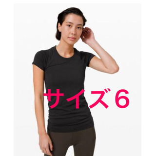 lululemon - 新品lululemon Swiftly Tech 半袖 サイズ6 黒(52)