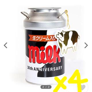 チロルチョコ ミルク缶 4缶(菓子/デザート)