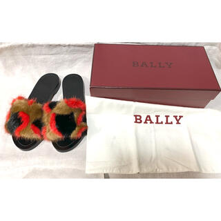 Bally - バリー フラットファーサンダル