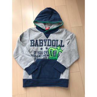 BABYDOLL - キッズ kids baby doll 130㎝ パーカー トレーナー 長袖