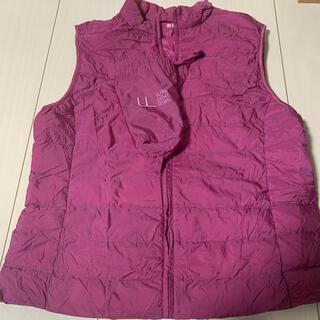 ユニクロ(UNIQLO)の週末セール UNIQLO ウルトラライトダウンベスト 巾着付き(ダウンベスト)