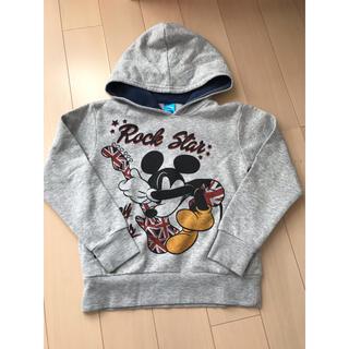 ディズニー(Disney)のkids 子供服 130㎝ 長袖 トレーナー パーカー ミッキー ディズニー(ジャケット/上着)