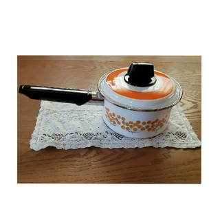 ゾウジルシ(象印)のZOJIRUSHI  象印 ホーロー鍋 片手鍋 新品(鍋/フライパン)