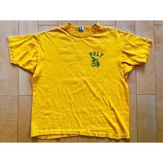 70's Champion チャンピオン Tシャツ バータグ後期 USED