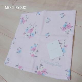 マーキュリーデュオ(MERCURYDUO)のMERCURYDUO 花柄 ピンク ハンカチ(ハンカチ)
