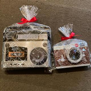 カルディ(KALDI)のカルディ ラジカセ缶&カメラ缶(菓子/デザート)
