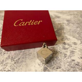 カルティエ(Cartier)の【Cartier】カルティエ ロゴチャーム♪ (チャーム)