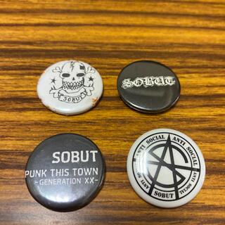 アンチクラス(Anti Class)のソバット 缶バッジ 4つ セット ファンクラブ限定(ミュージシャン)