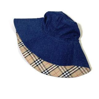バーバリーブルーレーベル(BURBERRY BLUE LABEL)のバーバリーブルーレーベル 帽子 バケットハット(ハット)