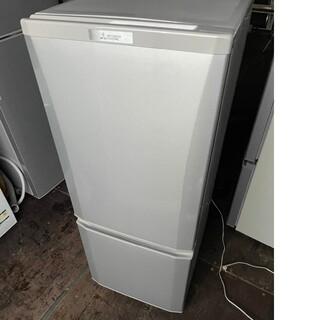 三菱電機 - 三菱 2ドア冷蔵庫 146L 💍2018年製💍 シルバー