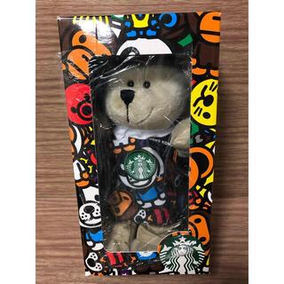 スターバックスコーヒー(Starbucks Coffee)の海外 完売 スターバックス BABYMILO  コラボ  エイプ  ベアリスタ(ぬいぐるみ)