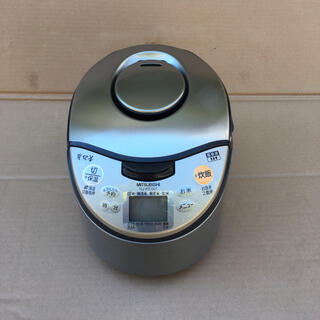 三菱電機 - 三菱 IH炊飯器(3.5合炊き) ナチュラルシルバー 炭炊釜