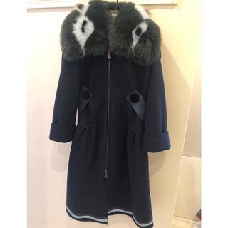 フェンディ(FENDI)の専用 FENDI ファー襟コート(毛皮/ファーコート)