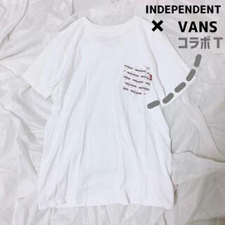 VANS - VANS、independentコラボ、ポケットTシャツ