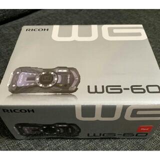 RICOH WG-60 [レッド](コンパクトデジタルカメラ)