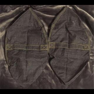 ムジルシリョウヒン(MUJI (無印良品))の無印良品 MUJI 綿デニム座るパイプクッションカバー 2枚セット(クッションカバー)