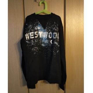 ヴィヴィアンウエストウッド(Vivienne Westwood)のviviennewestwood  ミルキーウェイ スウェット(トレーナー/スウェット)