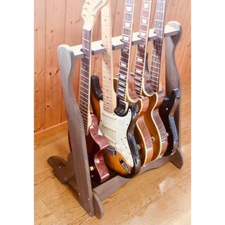 フェンダー(Fender)のtk様専用 ベーススタンド(5本掛け)チークカラー(エレキベース)