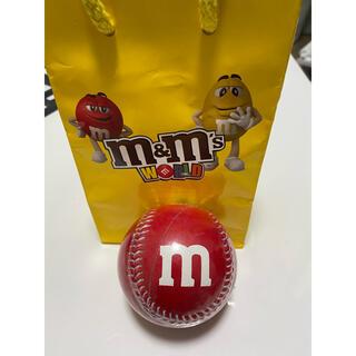 エムアンドエムアンドエムズ(m&m&m's)のm&ms  硬式ボール 赤(ボール)