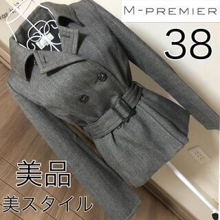 M-premier - 美品☆M PREMIER  ☆美スタイル☆ショートコート☆34☆Mプルミエ