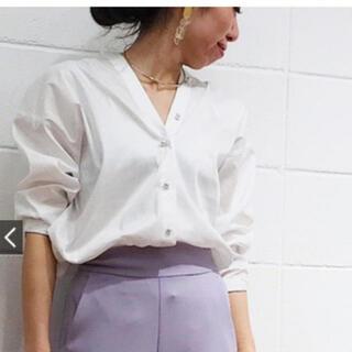 ラウンジドレス(Loungedress)の新品タグ付き*春服♡ラウンジドレス シャツ ブラウス(シャツ/ブラウス(長袖/七分))
