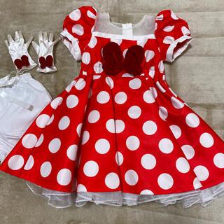 ディズニー(Disney)のビビディバビディブティック ミニーちゃんドレス 120 ディズニーリゾート(ドレス/フォーマル)