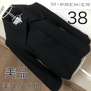 エムプルミエ(M-premier)の美品☆M PREMIER  ☆美スタイル☆ジャケット☆34☆Mプルミエ(テーラードジャケット)