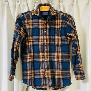 ペンドルトン(PENDLETON)の希少 美品 ペンドルトン チェックシャツ ブラウン(シャツ)
