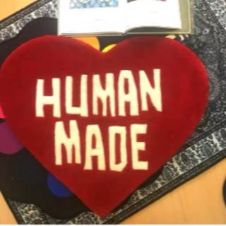 HUMAN MADE heart ラグマット(ラグ)
