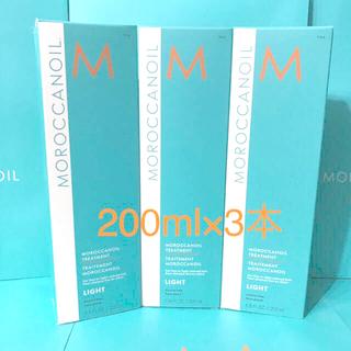 モロッカンオイル(Moroccan oil)のライト 200ml×3本セット モロッカン オイル トリートメント ラクマパック(オイル/美容液)