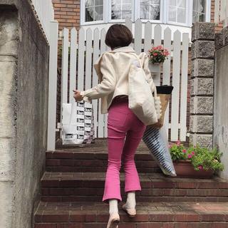 Lochie - bibiy. pink flare pants