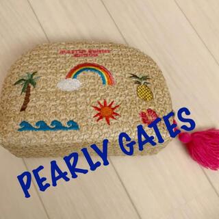 パーリーゲイツ(PEARLY GATES)の新品■9,350円【パーリーゲイツ 】 編み込み ポーチ(バッグ)