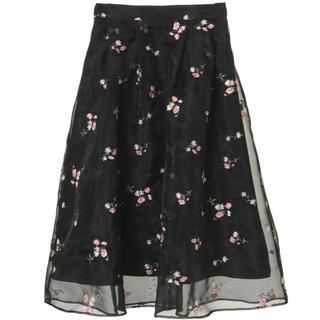 トランテアンソンドゥモード(31 Sons de mode)のトランテアン チュールスカート(ひざ丈スカート)