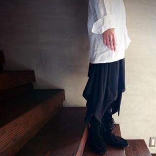 antiqua - アンティカ 2wayアシンメトリー変形スカート