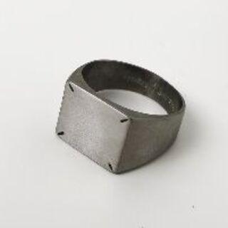 MAISON MARGIELA ステッチ リング(リング(指輪))