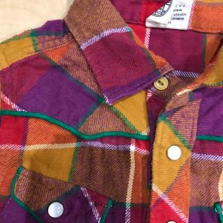 エフオーキッズ(F.O.KIDS)のネルシャツ 男の子 100センチ(Tシャツ/カットソー)