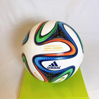 アディダス(adidas)の2014年ブラジルワールドカップ公式試合球 日本対コロンビア戦 箱付き(ボール)