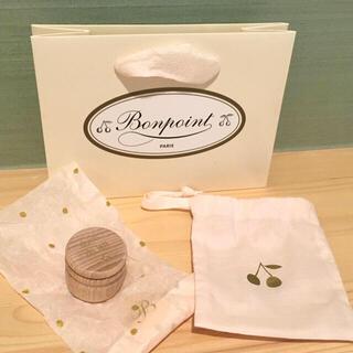 ボンポワン(Bonpoint)の完売 Bonpoint ボンポワン 乳歯入れ 小物入れ 木製 ケース 新品(その他)